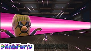 Wii Party U Dojo MiniGames Mario vs Luigi vs Wario vs Waluigi Advanced