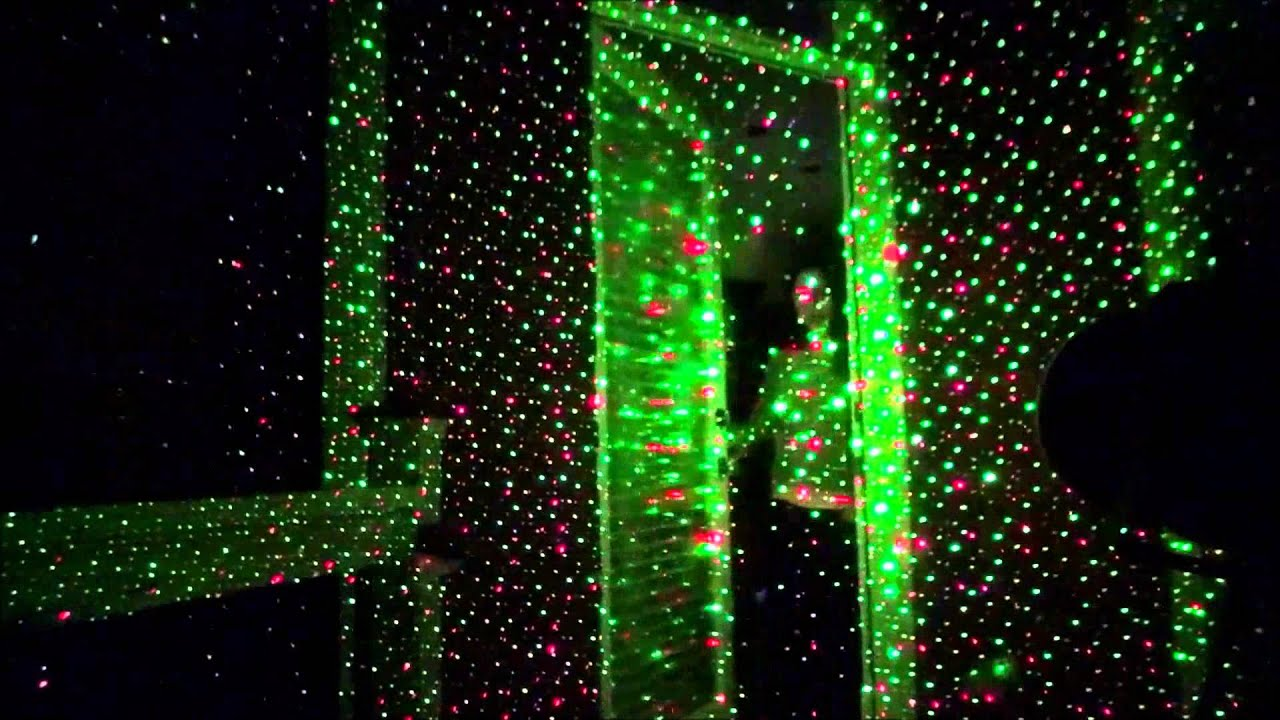 Spectrum laser lights compared to star shower review youtube for Star shower motion m6