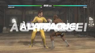 DEAD OR ALIVE 5 Jann Lee vs Zac Game of death