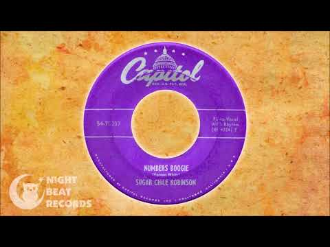 """Sugar Chile Robinson - """"Numbers Boogie"""" (CAPITOL) 1949"""