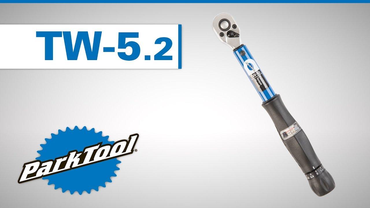 "Park Tool TW-5.2 3//8/"" Ratcheting Click-Type Torque Wrench 2-14 Nm Range"