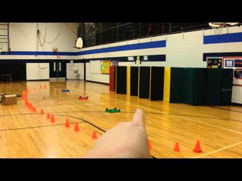 Throwing Game Star Wars Elementary PE