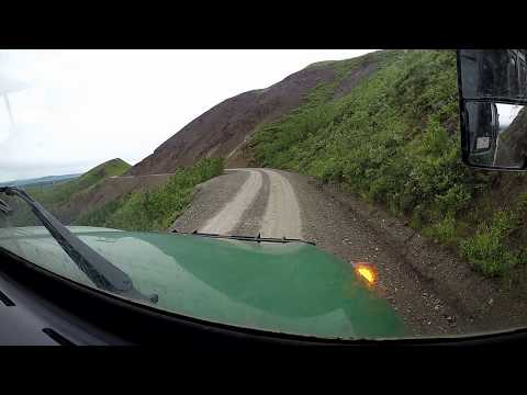 Time Lapse Drive: Denali National Park Road, Alaska