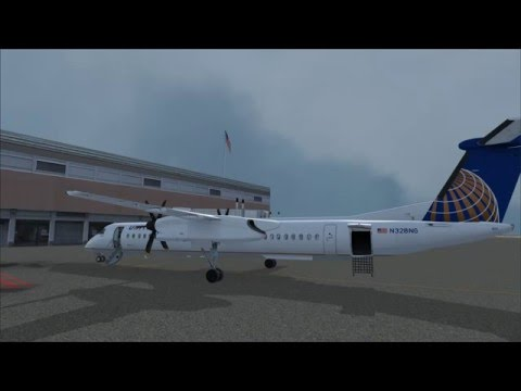 Regional hop from Norfolk to Washington Dulles Intl aboard the Majestic Q400