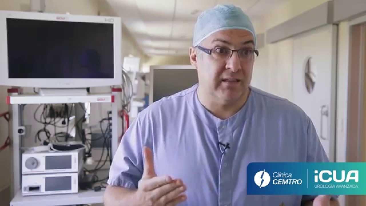 enucleación con láser para una próstata agrandada