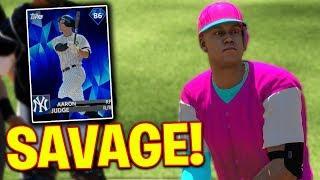 Diamond Aaron Judge Is Amazing! MLB The Show 18   Battle Royale Gameplay #1