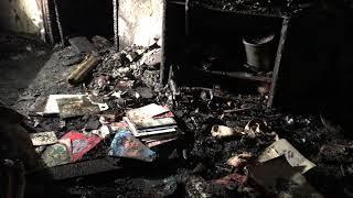 Квартира, в которой произошёл взрыв газа в Бийске