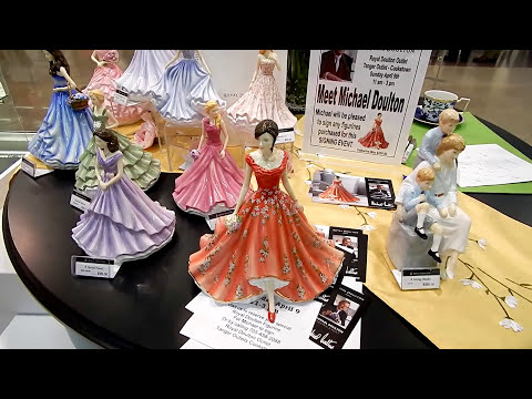Royal Doulton - Michael Doulton Signing Event in Toronto area 2017 Canada