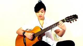 Đêm Buồn Tỉnh Lẻ - Guitar Bé Mẫn( Virginia Nguyen) | Nhạc Bolero