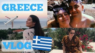 GREECE VLOG | PART TWO | Our Own Paradise & Flying Home Early...
