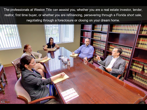 Weston Title & Escrow | Weston, FL | Title Company