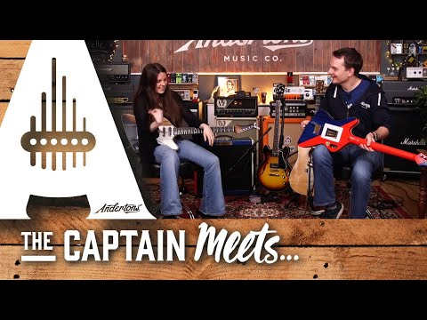 The Captain Meets Singer-Songwriter and Guitarist Arielle