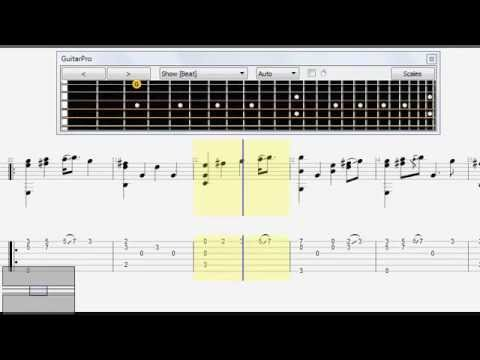 Myth Ost Endless Love Free Guitar Tab Fingerstyle Youtube
