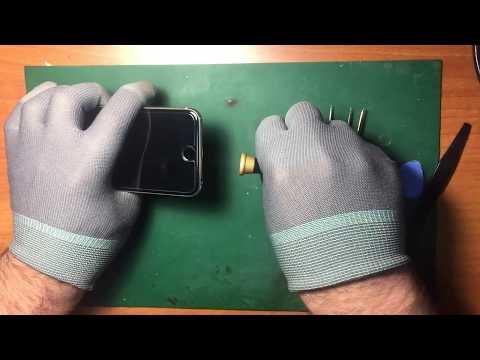 Разборка - замена камеры и сборка Apple IPhone 6