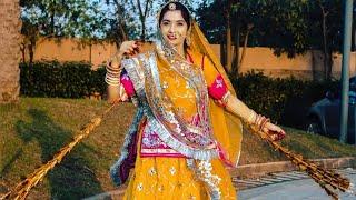 राजस्थानी लोक संगीत पर घुमर नुत्य ।। Ghoomar
