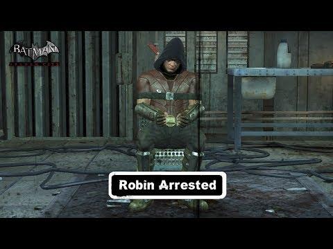 Char Swaps Batman Arkham City Robin Arrested