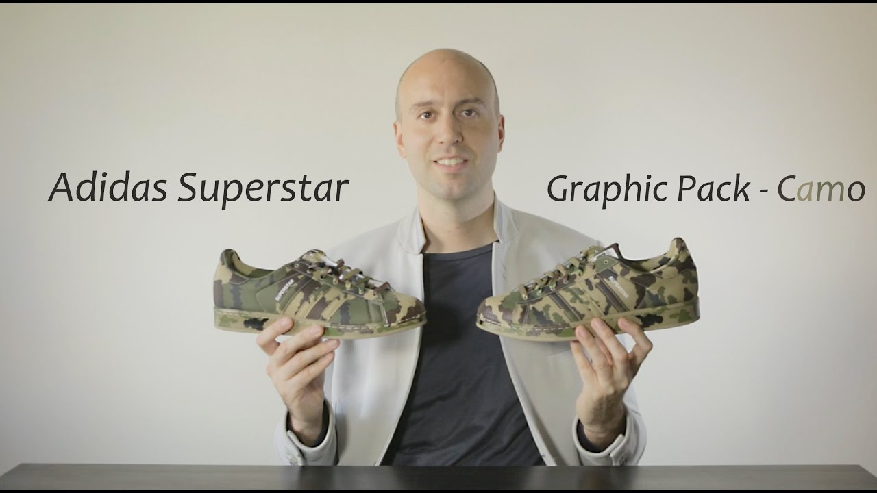 0eb0c88fd Adidas Superstar Graphic Pack Camo - Unboxing + Review + Close Up + On Feet  - Mr Stoltz 2015
