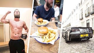 Burnouts, Biceps and Burgers - EP. 6 Ft. Archie Hamilton | TRICEP WORKOUT