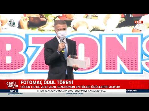 Fotomaç Ödül Töreni'nde Trabzonspor 4 Ödül Birden Aldı