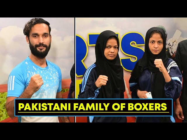Sports Time With Pakistani Family Of Boxers