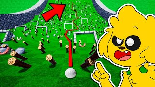 ¡EL TIRO MÁS LARGO IMPOSIBLE DE GOLF IT! 😱😱 ¿HOYO EN UNO? | MIKECRACK GOLF IT #8