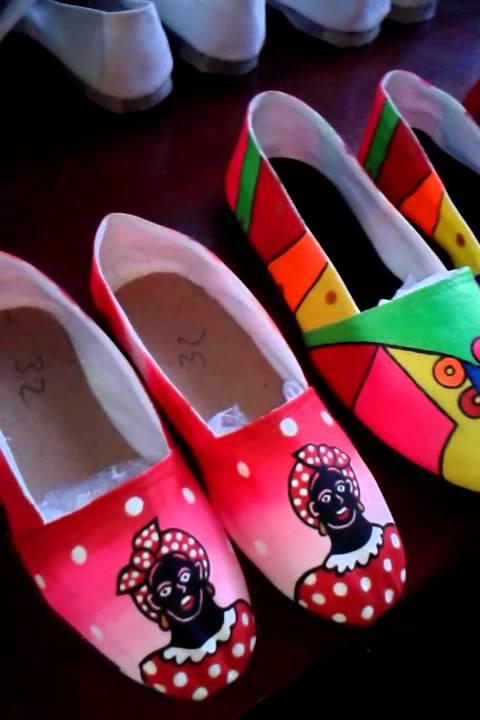 Nuevos zapatos carnavaleros de moda!!!