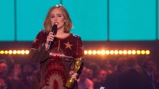 Download Adele's '25' wins MasterCard British Album of the Year | The BRIT Awards 2016 Mp3 and Videos