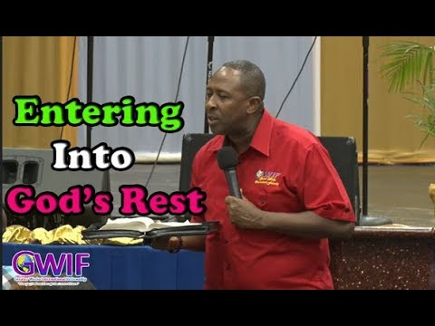 Entering Into God's Rest   Apostle Andrew Scott