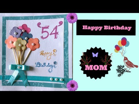 DIY Greeting Card to MOM | Paper art ideas | EP-07