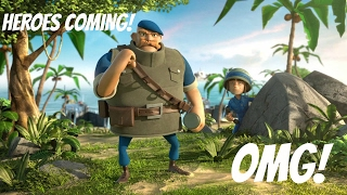 HEROES COMING TO BOOM BEACH!!!!