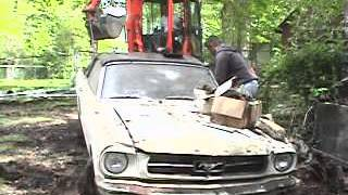 1966 Mustang Convertible Barn Find
