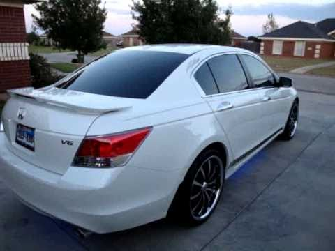 Honda Accord 2009 On 20 Lexani Lss 10 Youtube