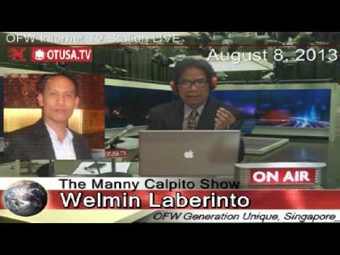 OFW draftsman, Welmin Laberinto tells salary difference between Singapore and Philippines_OTUSA,TV
