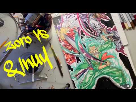 Zoro Vs Afro Samurai Inuyasha Final Pt 5 Youtube