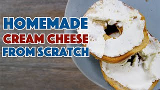 Glen Makes Cream Cheese From Scratch At Home Recipe