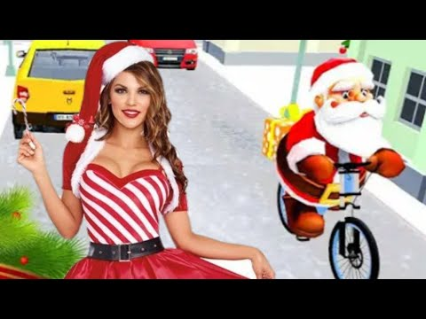 Virtual Santa BMX Bicycle Gift Delivery Rider by Digital Royal Gaming Android Gameplay HD