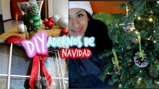 DIY Decoracion Navideña (Pinecones ) Thumbnail