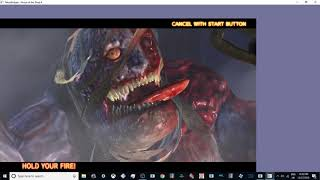 THE HOUSE OF THE DEAD 4 FULL PC ARCADE GAMEPLAY 1080p 300fps TEKNOPARROT 1.82 UK ARCADES 2018