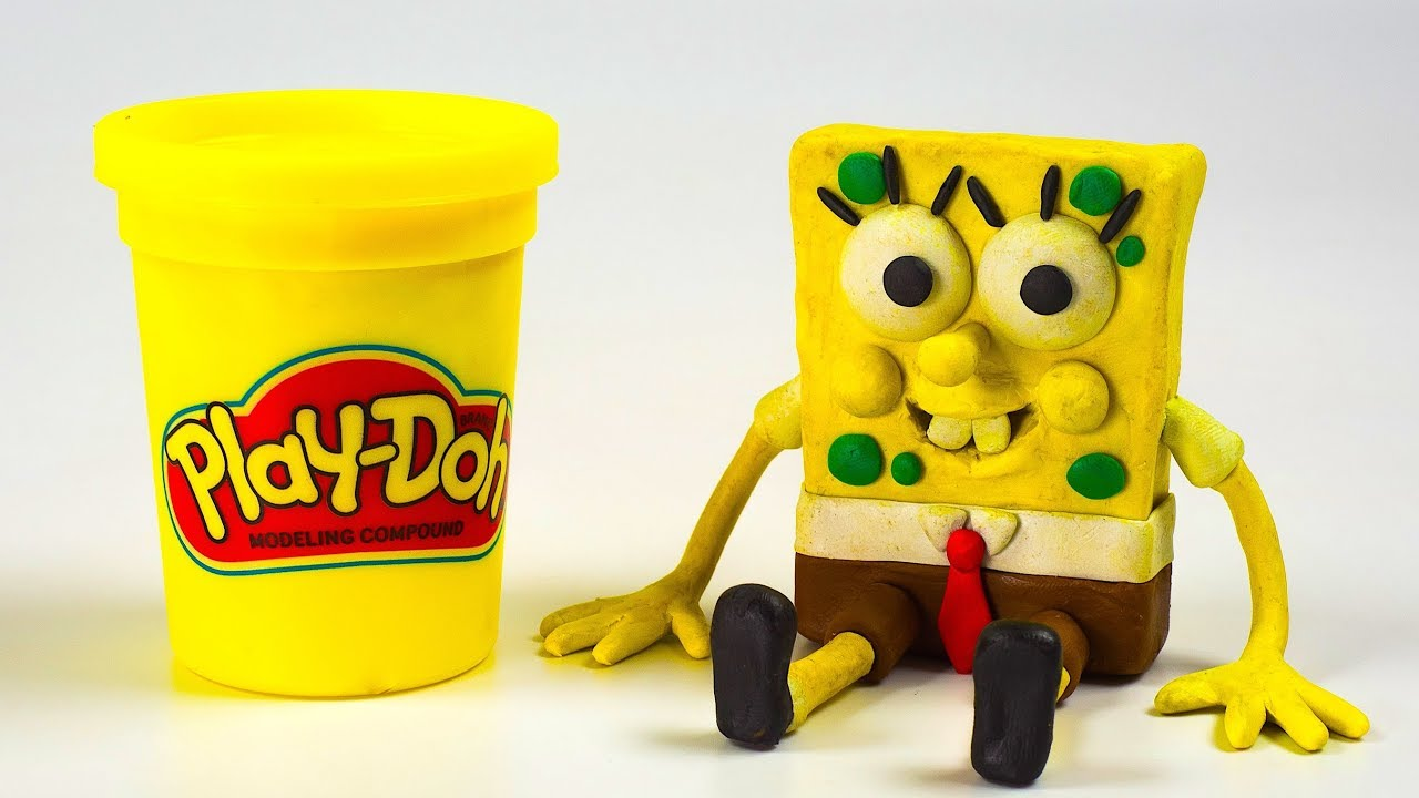 Making of Spongebob Squarepants Stop-Motion Day Play-Doh Disney Cars Mix