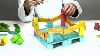 Magnetic Toys From Tegu - Building A Boxing Ring