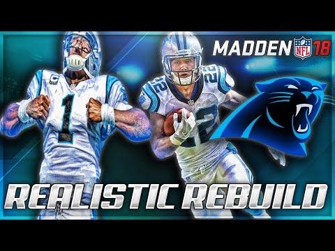 Rebuilding The Carolina Panthers | Best Draft Prospect In Madden 18! | Madden 18 Franchise