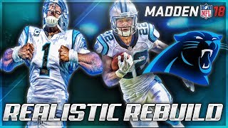 Rebuilding The Carolina Panthers | Best Draft Prospect In Madden 18! | Madden 18 Franchise 2017 Video
