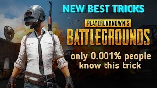 NEW BEST PUBG GAME TRICKS || ONLY 0.001% KNOW THIS TRICK|| TELUGU TECH GUY