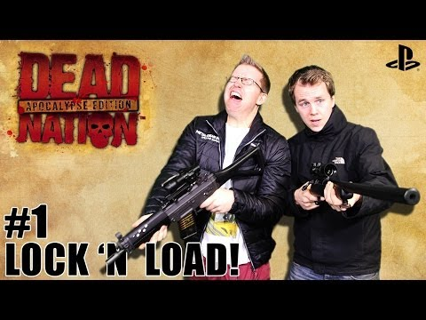 Let's Play Dead Nation: Apocalypse Edition on PS4: Episode one - Lock and Load (1080p gameplay)