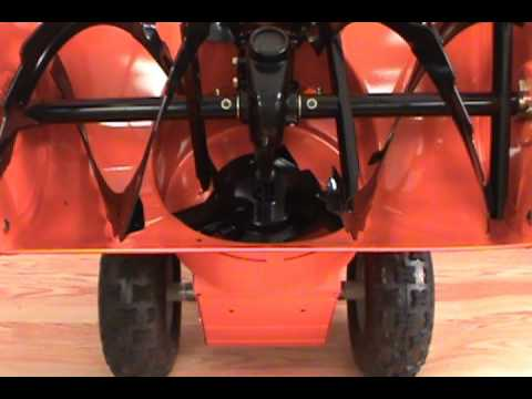 Replacing The Scraper Blade Ariens Two Stage Snow Blower
