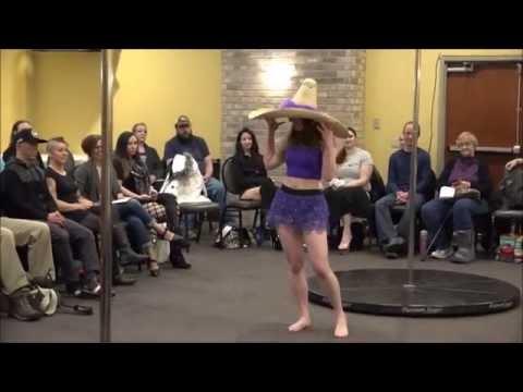Wisconsin Pole Dance Showcase 2016 - Allison Lynn Florita
