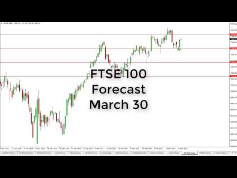FTSE 100 Technical Analysis for March 30 2017 by FXEmpire.com