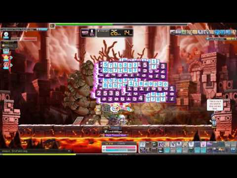 [MapleSEA] 5th Job Dual Blade Chaos Zakum (Revamped) Solo - 1.1m range