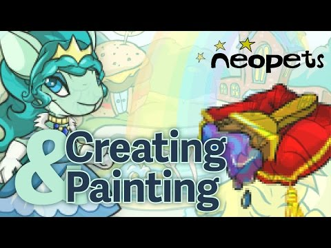 Neopets: Creating A Royal Girl Kyrii