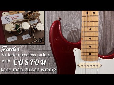 [DIAGRAM_34OR]  Custom Wiring for Fender Vintage Noiseless Pickups - YouTube | Fender Noiseless Pickups For Stratocaster Wiring Diagram |  | YouTube
